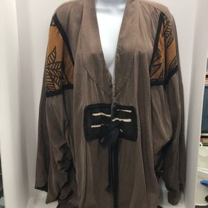Fixsun Casual Jacket Brown-tones one-size Rayon